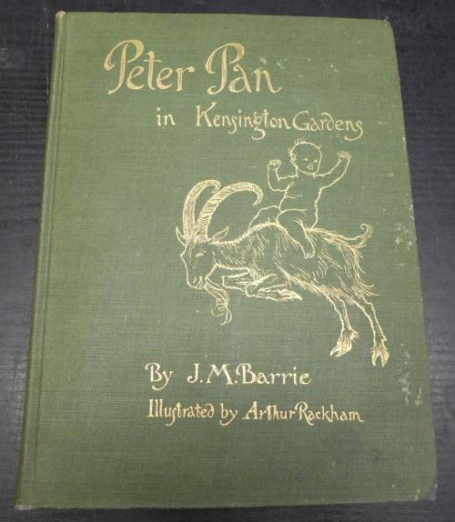 Peter Pan Book Covers Rackham-peter Pan-book Cover