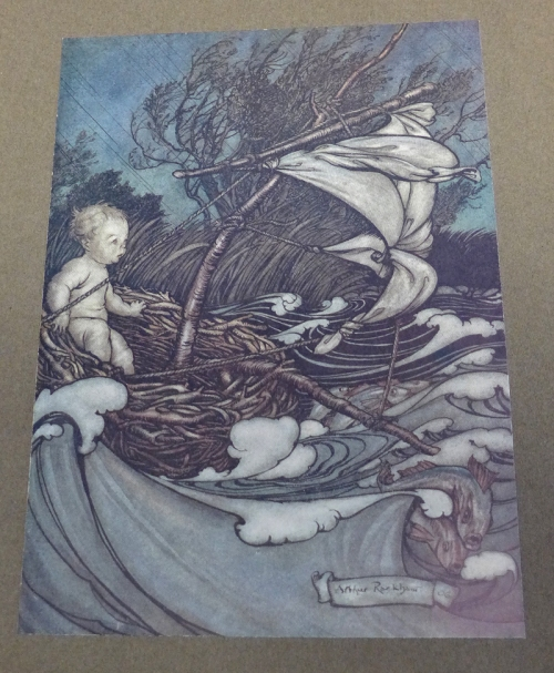 Rackham-Peter Pan-little boat