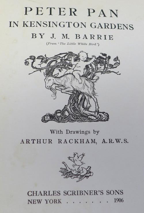 Rackham-Peter Pan-title page