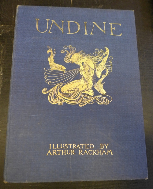 Rackham-Undine-cover of 1912 US edition