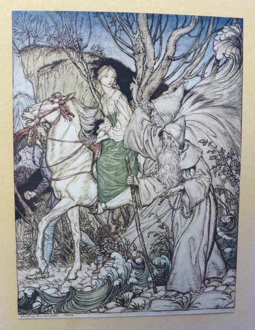 Rackham-Undine-Little niece and Külhleborn