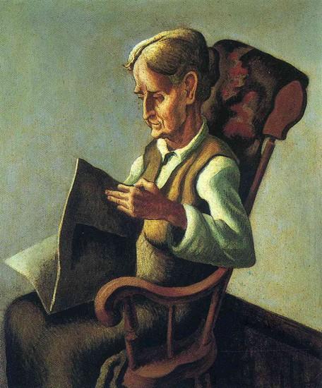 Artist Thomas Hart Benton