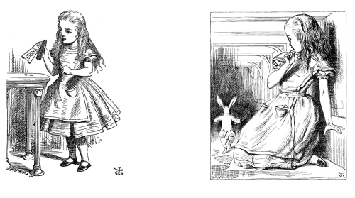 Alice, illustrated by Tenniel