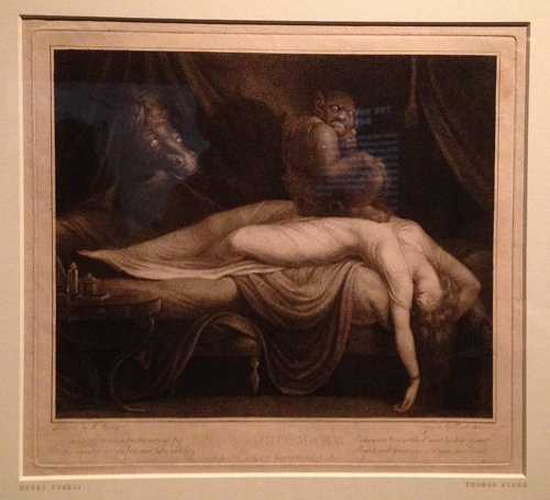 BL Henry Fuseli-The Nightmare