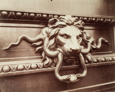 Atget - Door Knocker