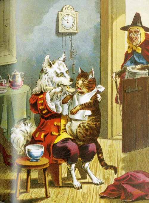 Old Mother Hubbard -1889