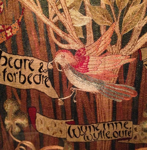 May Morris-embroidery detail