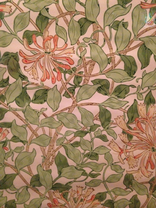 May Morris-Honeysuckle wallpaper