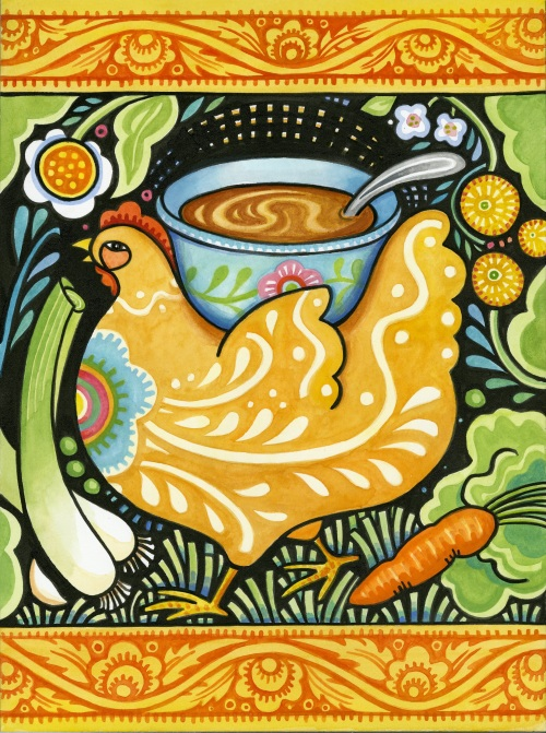 Julie Paschkis - Get Well Soup