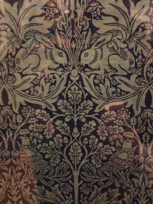 W Morris-Brother Rabbit printed cotton (designed 1882)