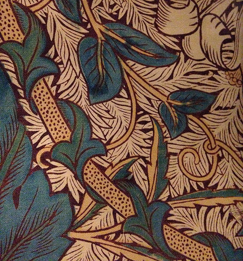 W Morris-cloth detail