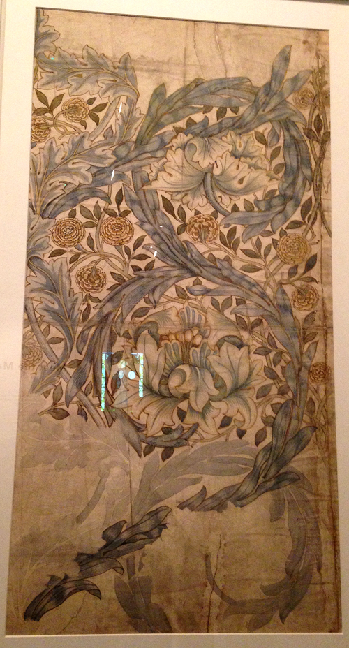 W Morris-Design for African Marigold textile (1876)