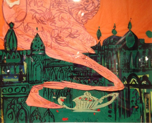 Brian Wildsmith-another detail from The Arabian Nights front cover