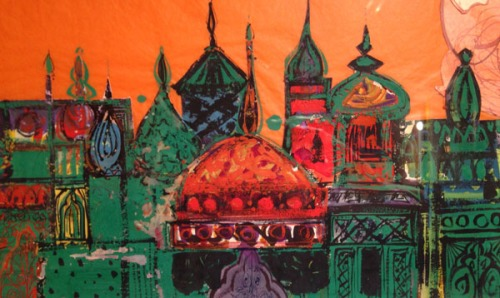 Brian Wildsmith-detail from The Arabian Nights front cover