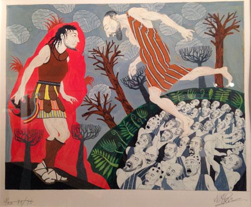 Neil Packer-Tiresias the Blind Prophet-The Odyssey