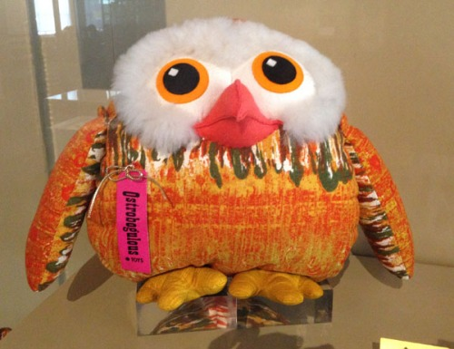 Cloth toy owl