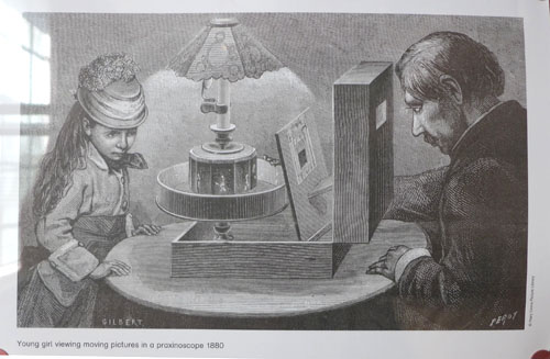 viewing Praxinoscope 1880