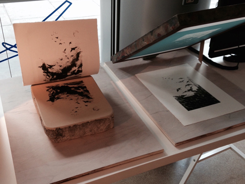 litho + silkscreen demos