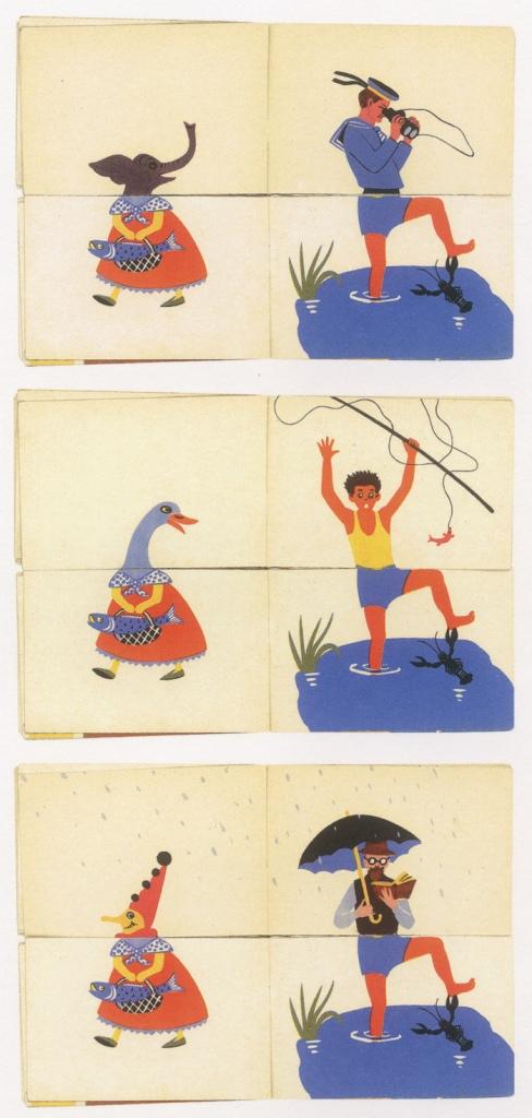 Soviet Lithuanian illustration seen on the blog 50 Watts