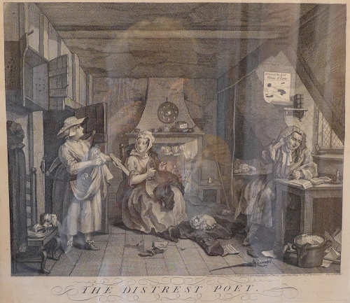 W Hogarth-The Distrest Poet