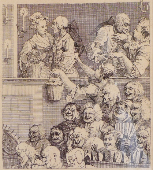 W Hogarth-The Laughing Audience