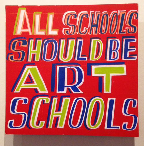 AllSchoolsShouldBeArtSchools