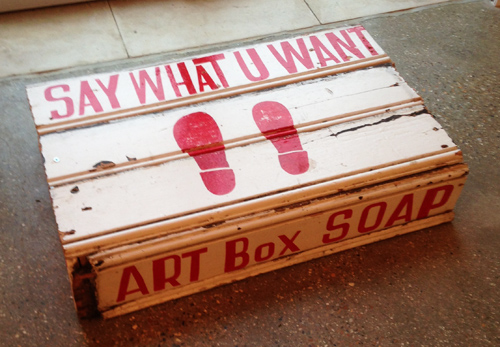 Arts Soap Box