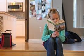 engrossed reader