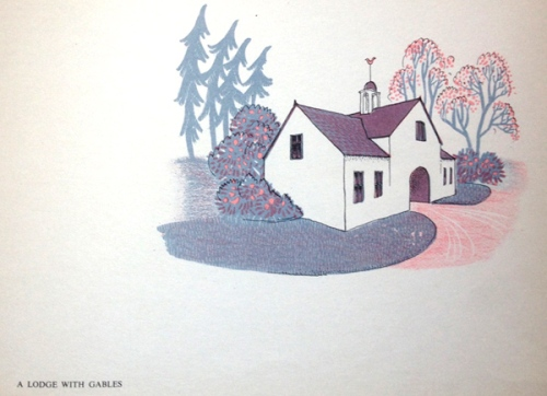 G White-A Lodge With Gables-image
