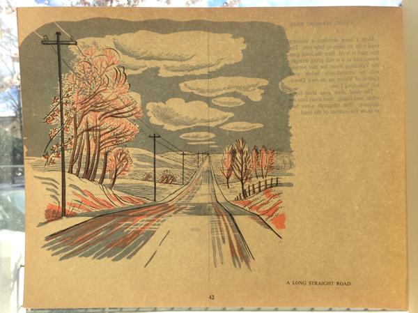 G White-A Long Straight Road-image