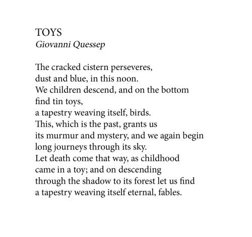 Toys poem