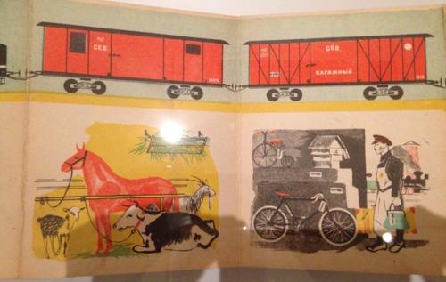 Georgii Echeistov 1930-What It Carries Where It Travels 2