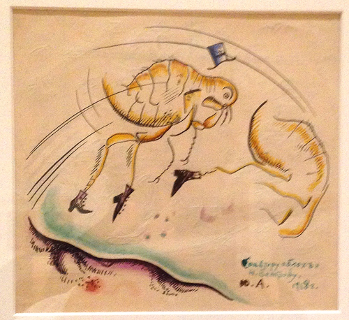 Iureii Annenkov 1918-The Flea