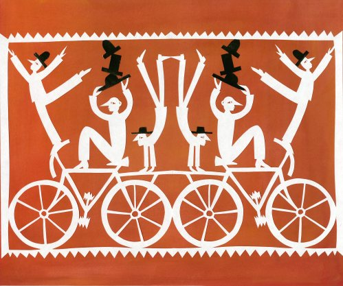 Paschkis bicycle trick