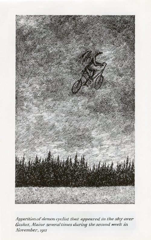 gorey demon cyclist