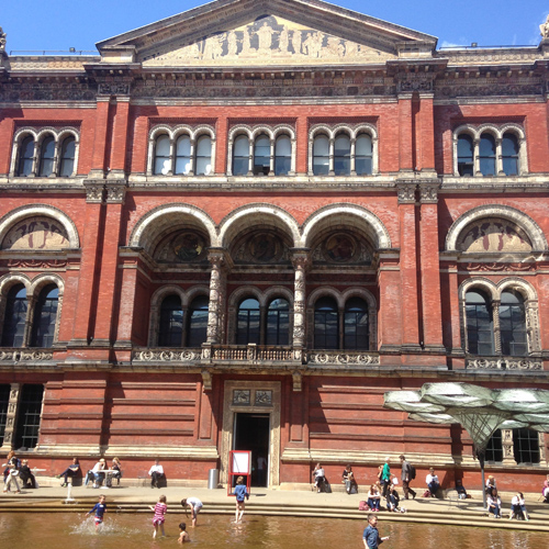 Inner courtyard at V&A
