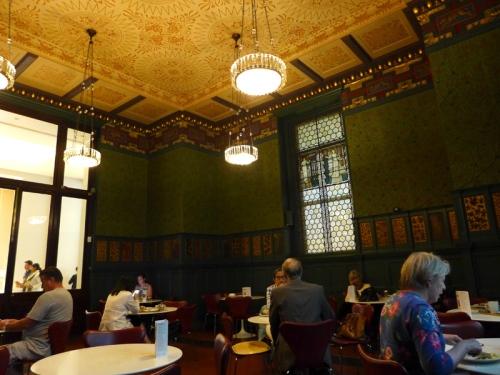 V&A cafe Morris room 2