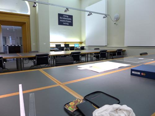 V&A study room