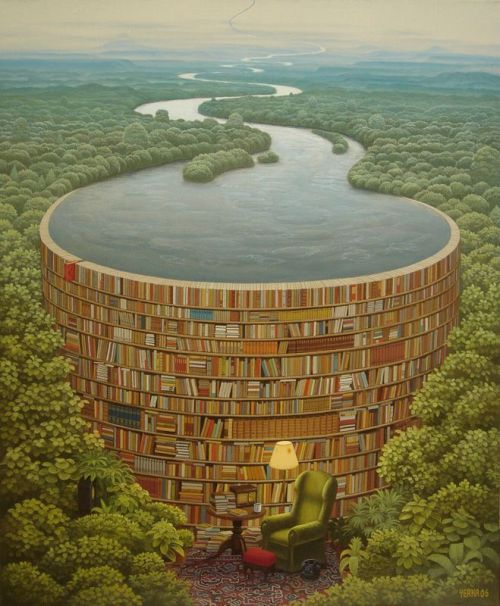 Illustration by Jacek Yerka