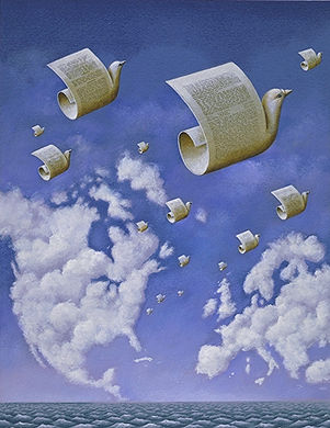 Illustration by Rafal Olbinski