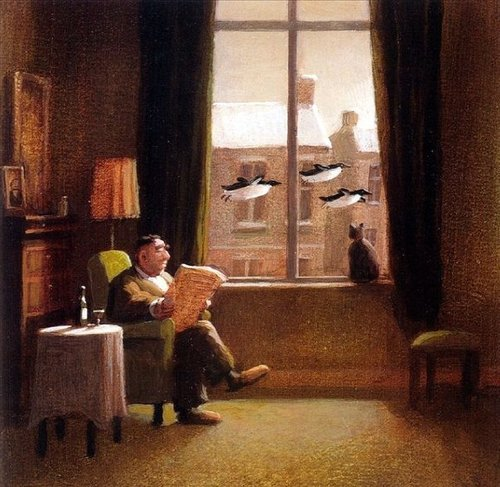 Illustration by Michael Sowa
