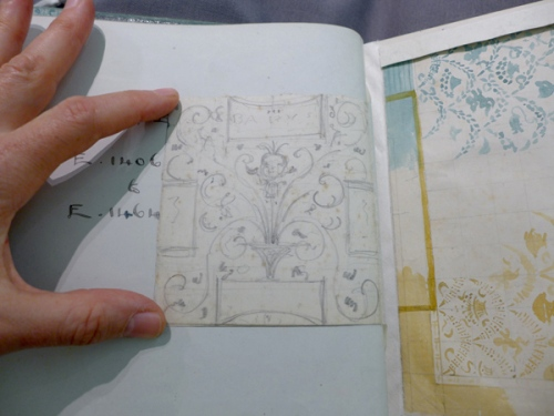 w-crane-babys-bouquet-inside-cover-open-sketch