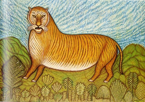 Tiger by Morris Hirshfield