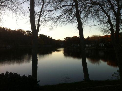 sluice-pond