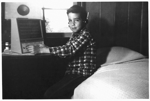 Paul and his shortwave radio