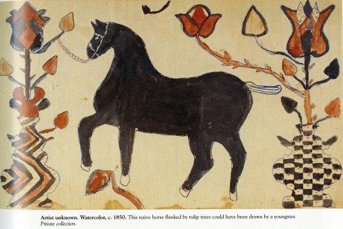 fraktur-horse