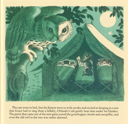 illustration by Kathleen Hale for Orlando the Marmalade Cat