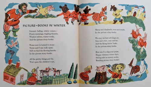 R Duvoisin-Childs Garden of Verses-Picture Books In Winter