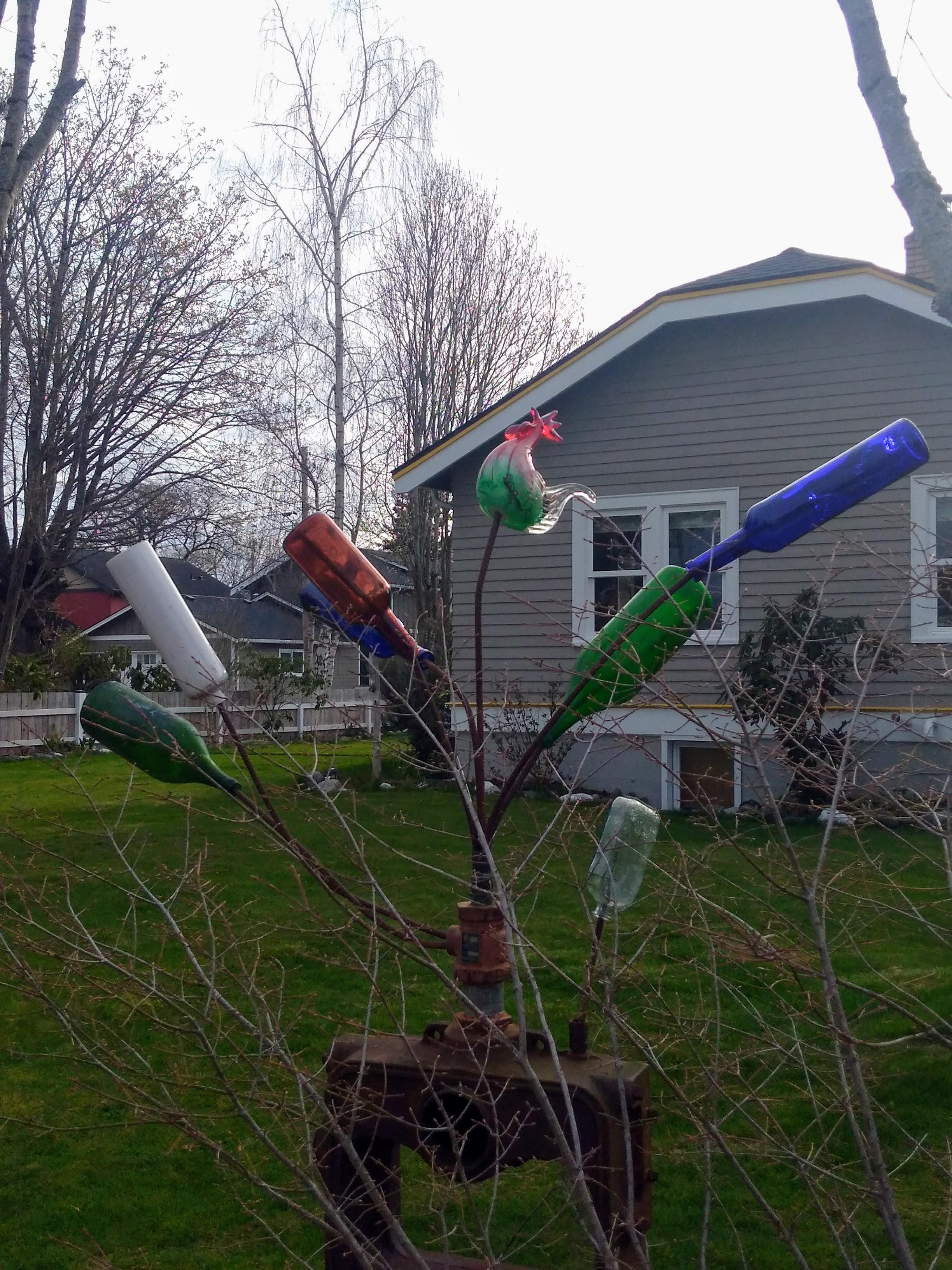 BATT 7 Bottle Tree